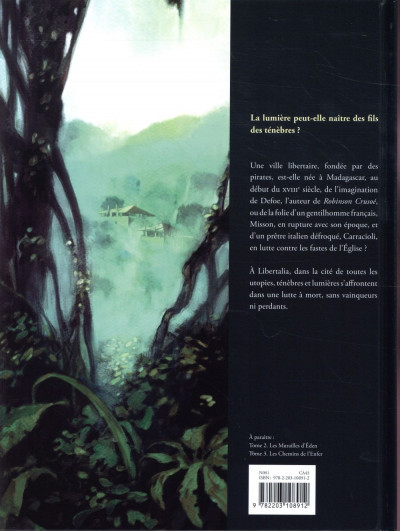 Dos Libertalia tome 1 + ex-libris offert