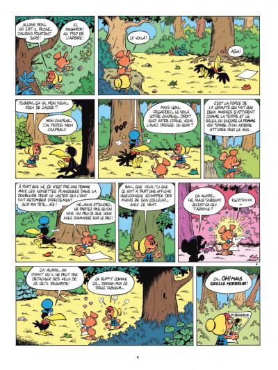 Page 4 Les nouvelles aventures de Sibylline tome 1