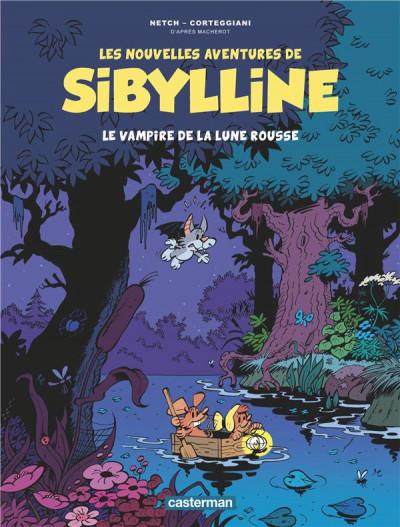 Couverture Les nouvelles aventures de Sibylline tome 2
