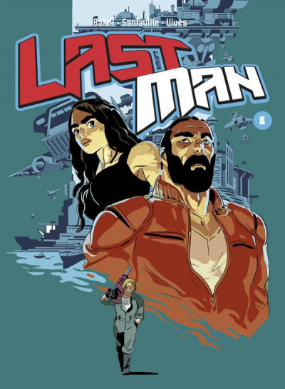 Couverture Lastman tome 8 - Collector