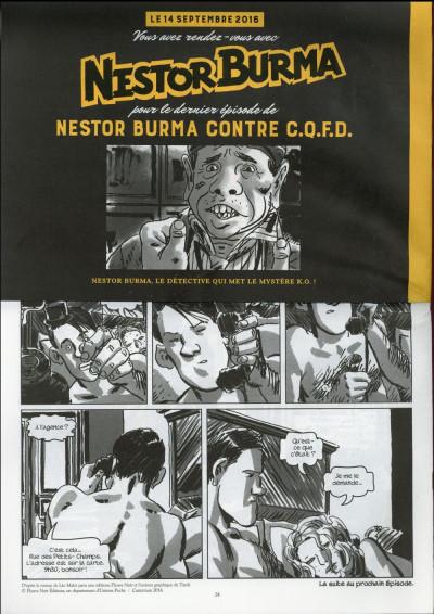 Dos Nestor Burma contre CQFD - journal tome 2
