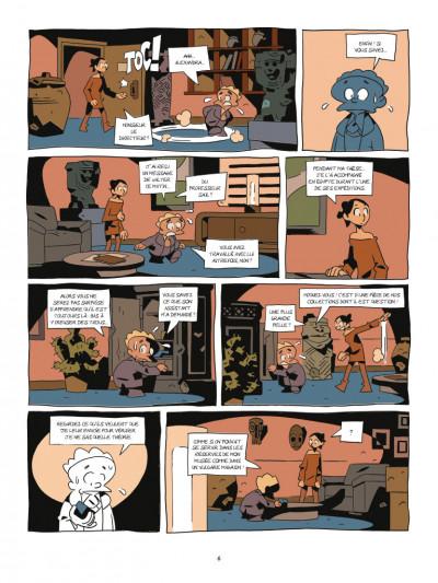 Page 4 Les archéologues de l'interdit tome 1 - La malédiction de Smenkharê