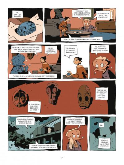 Page 5 Les archéologues de l'interdit tome 1 - La malédiction de Smenkharê