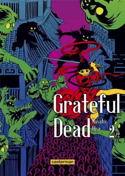 Couverture Grateful dead tome 2
