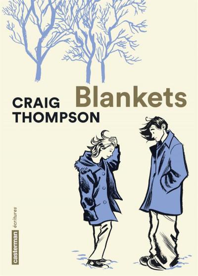 Couverture Blankets - édition 2016