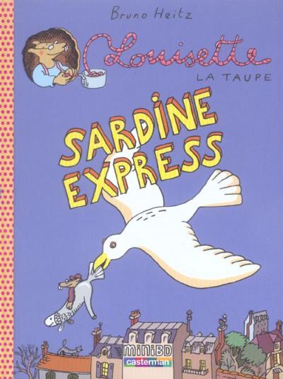 image de Louisette la taupe tome 2 - sardine express