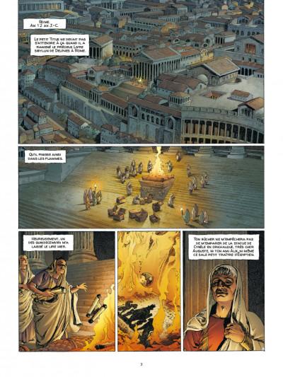 Page 1 Alix Senator tome 6