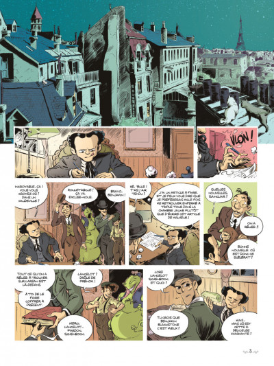 Page 1 Benjamin Blackstone tome 2