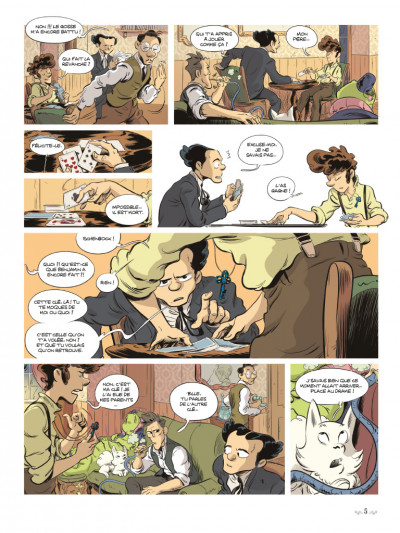 Page 3 Benjamin Blackstone tome 2