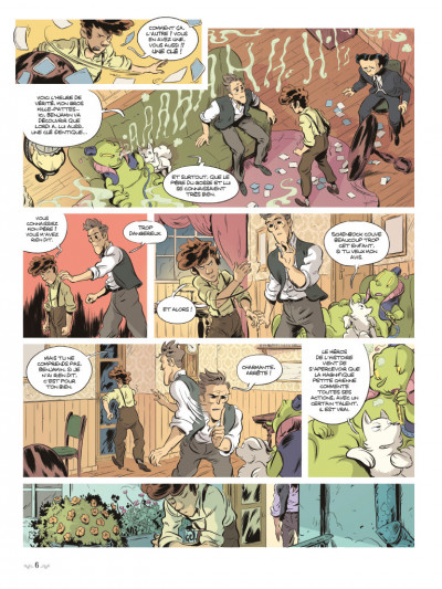 Page 4 Benjamin Blackstone tome 2