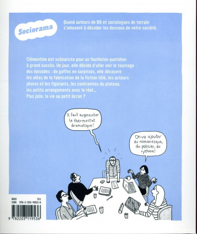 Dos Sociorama - Plus belle la série