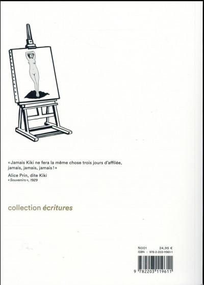 Dos Kiki de Montparnasse - édition 2016