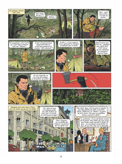 Page 7 Lefranc tome 28