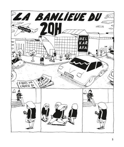 Page 1 Sociorama - La banlieue du 20h