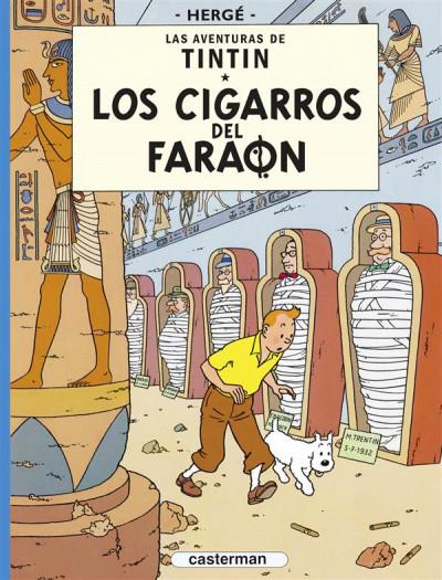 Couverture los cigarros del faraon