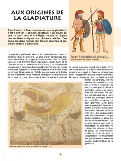 Page 1 Les voyages d'Alix - les gladiateurs