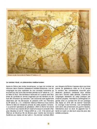 Page 2 Les voyages d'Alix - les gladiateurs