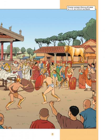 Page 4 Les voyages d'Alix - les gladiateurs