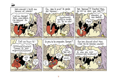 Page 6 La renarde tome 2