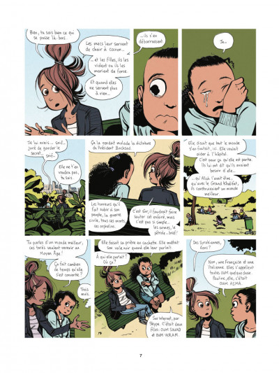 Page 5 Sous le voile