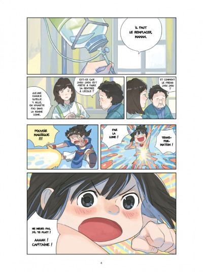 Page 2 Le monde de Zhou-Zhou tome 1