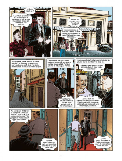 Page 2 Nestor Burma tome 11 - l'homme au sang bleu
