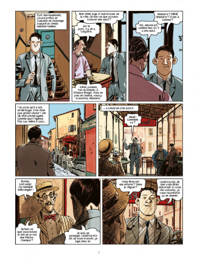 Page 3 Nestor Burma tome 11 - l'homme au sang bleu