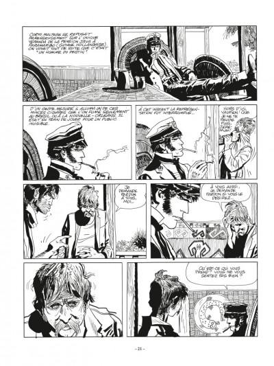 Page 1 Corto Maltese N&B - édition 2017 tome 2 - Sous le signe du capricorne