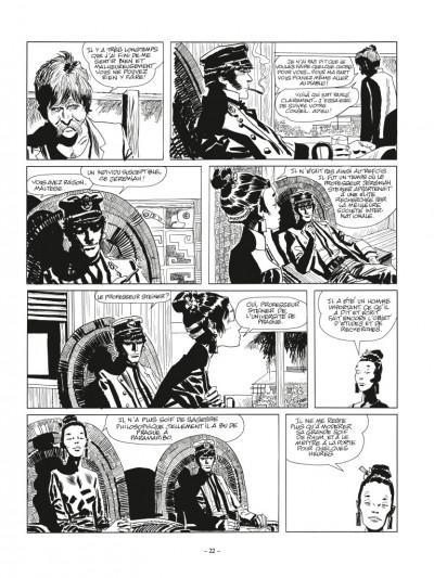 Page 2 Corto Maltese N&B - édition 2017 tome 2 - Sous le signe du capricorne