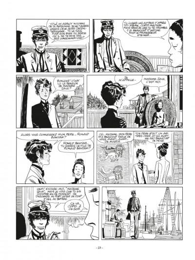 Page 3 Corto Maltese N&B - édition 2017 tome 2 - Sous le signe du capricorne