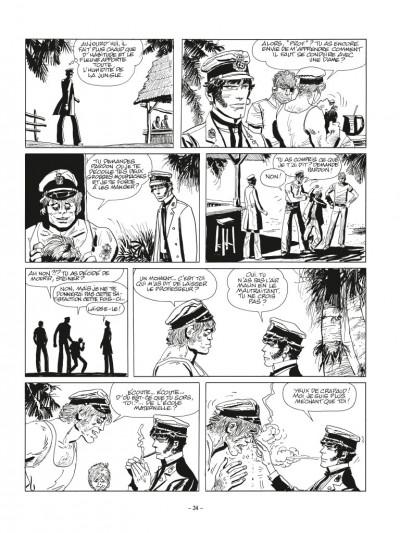 Page 4 Corto Maltese N&B - édition 2017 tome 2 - Sous le signe du capricorne