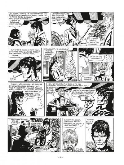 Page 4 Corto Maltese N&B - édition 2017 tome 3 - Toujours un peu plus loin