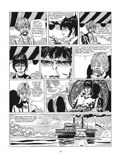 Page 5 Corto Maltese N&B - édition 2017 tome 3 - Toujours un peu plus loin