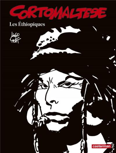 Couverture Corto Maltese tome 5 - Les éthiopiques (N&B)