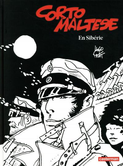 Couverture Corto Maltese tome 6 - En Sibérie (N&B)