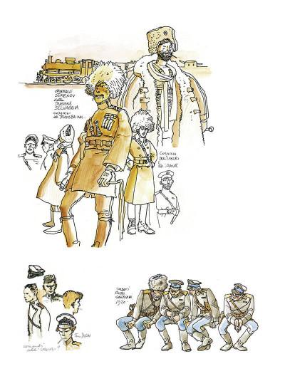 Page 5 Corto Maltese tome 6 - En Sibérie (N&B)