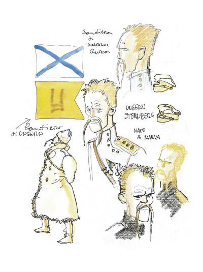 Page 6 Corto Maltese tome 6 - En Sibérie (N&B)