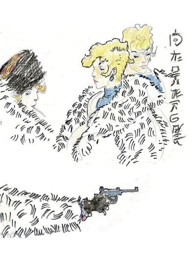 Page 8 Corto Maltese tome 6 - En Sibérie (N&B)