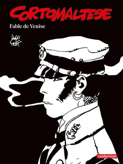 Couverture Corto Maltese - édition 2017 n&b tome 7