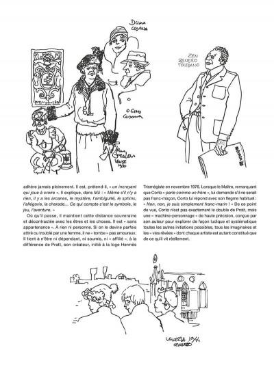 Page 8 Corto Maltese - édition 2017 n&b tome 7