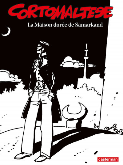 Couverture Corto Maltese - édition 2017 n&b tome 8