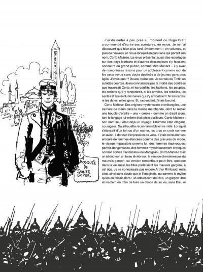 Page 7 Corto Maltese - édition 2017 n&b tome 8