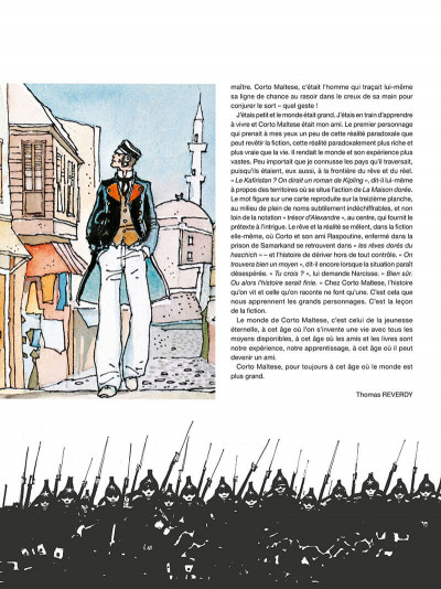 Page 8 Corto Maltese - édition 2017 n&b tome 8
