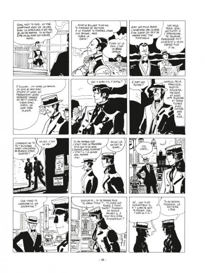 Page 2 Corto Maltese - édition 2017 n&b tome 10