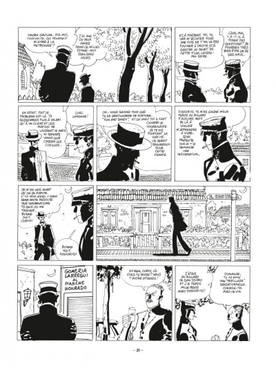 Page 4 Corto Maltese - édition 2017 n&b tome 10