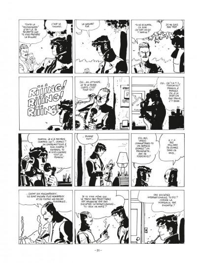Page 5 Corto Maltese - édition 2017 n&b tome 10