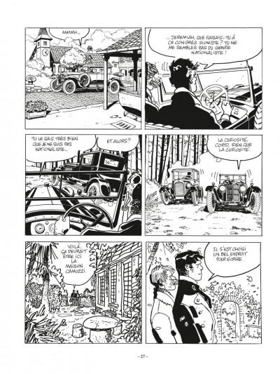 Page 3 Corto Maltese - édition 2017 n&b tome 11