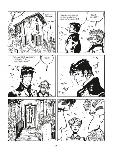 Page 4 Corto Maltese - édition 2017 n&b tome 11