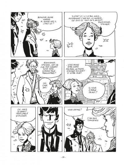 Page 5 Corto Maltese - édition 2017 n&b tome 11