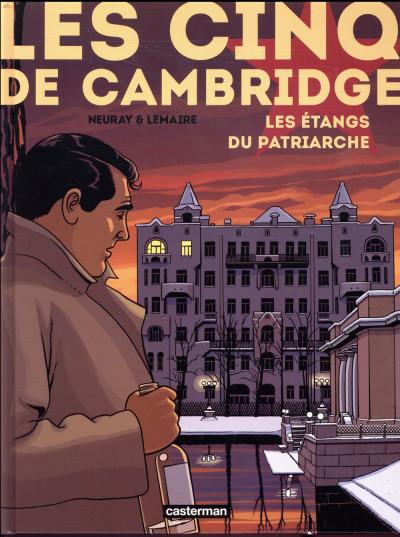 Couverture Les cinq de Cambridge tome 3
